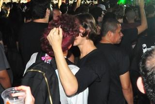 Maria Paula com o namorado (Foto: Roberto Teixeira / EGO)