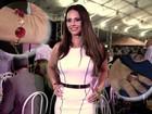 'São todas do meu acervo', diz Vivi Araújo sobre joias usadas em evento