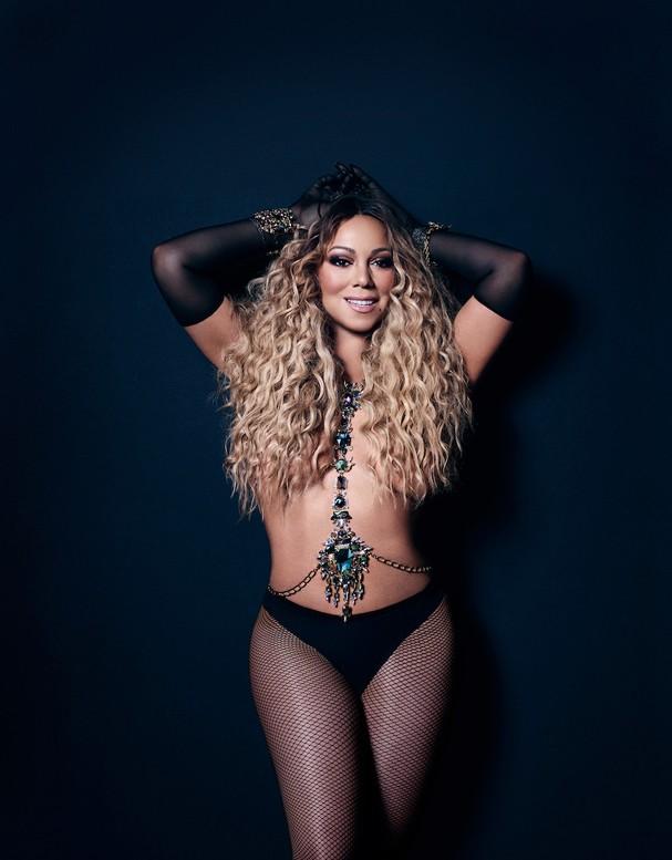 Mariah Carey (Foto: Reprodução Paper Magazine)