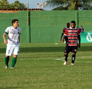 Coruripe e Santa Rita, no Gersão (Foto: Smack Neto; divulgação Santa Rita)