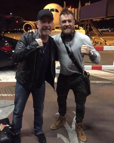 Conor McGregor The Edge (Foto: Reprodução/Twitter)