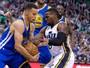Warriors batem Jazz na prorrogação e ficam a cinco vitórias de superar marca
