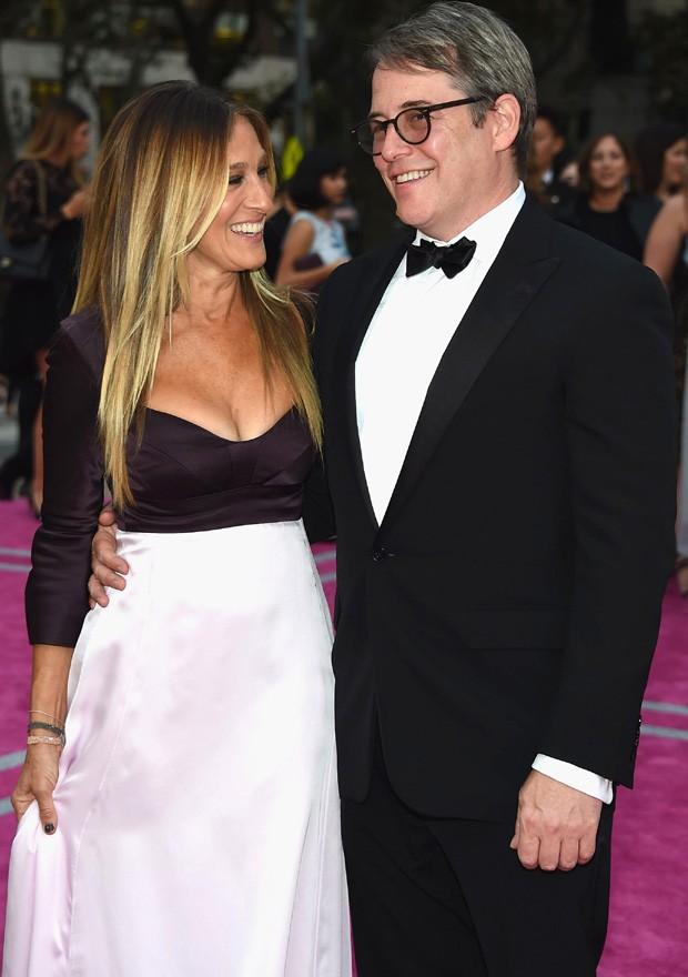 Matthew Broderick e Sarah Jessica Parker (Foto: Dimitrios Kambouris/Getty Images)
