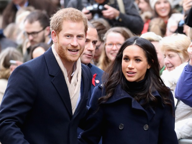Meghan Markle e Príncipe Harry (Foto: Getty)