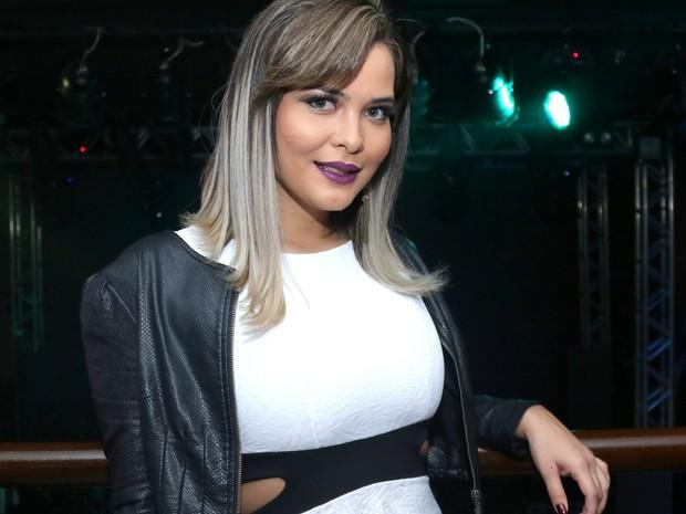 Geisy Arruda em show em São Paulo (Foto: Thiago Duran/ Ag. News)