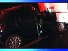 Empresário morre após bater carro na traseira de ônibus escolar