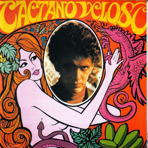 Caetano Veloso [Tropicália] (Foto: reprodução )