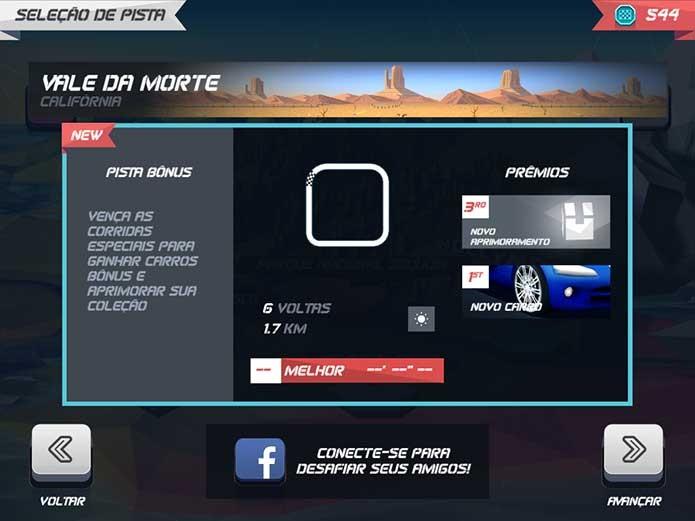 Horizon Chase: pistas bônus te dão novos carros (Foto: Reprodução/Felipe Vinha)