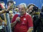 Lula participa de ato em SP: 'Vão ter que me enfrentar nas ruas deste país'