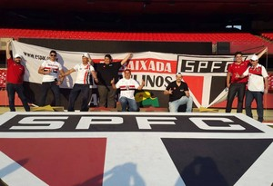 10 acreanos, torcedores do São Paulo, irão acompanhar São Paulo x Inter, no Morumbi (Foto: Paulo de Carli/Arquivo Pessoal)