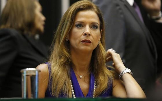 Claudia Cruz, esposa do presidente da Câmara, Eduardo Cunha (Foto: DIDA SAMPAIO/ESTADÃO CONTEÚDO)