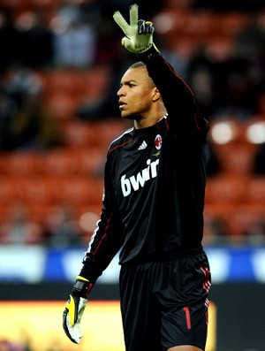 Dida jogando pelo Milan (Foto: Getty Images)