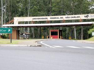 Campus da UFSCar, em São Carlos (Foto: Fabio Rodrigues/G1)