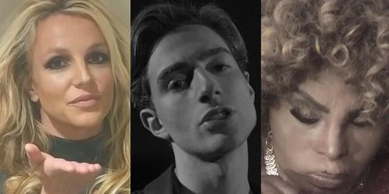 "Yann entre Britney Spears e Elza Soares: "" (Foto: Reprodução)"