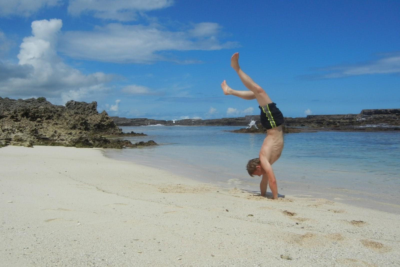 Gunnar Garfors em Tonga, na Oceania (Foto: Divulgação)