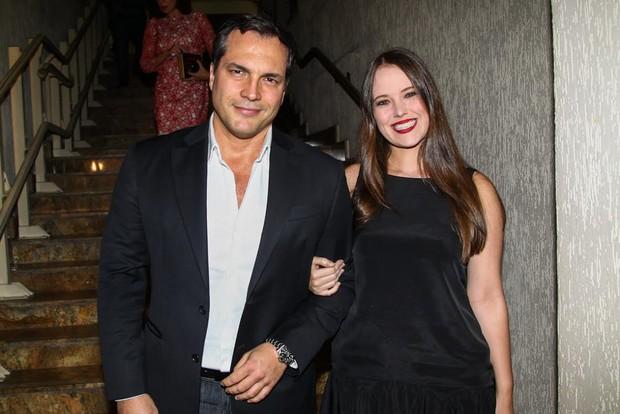 Daniel Boaventura e a mulher (Foto: Manuela Scarpa e Marcos Ribas/Photo Rio News)