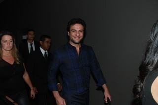 Rodrigo Lombardi em evento em São Paulo (Foto: Amauri Nehn/ Brazil News)