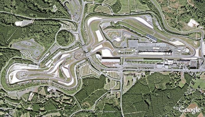 Circuito alemão estará no game em breve (Foto: Reprodução/Google)