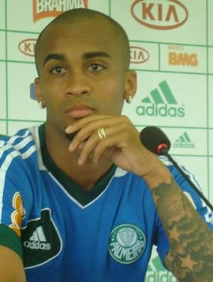 Wesley palmeiras (Foto: Rodrigo Faber/ Globoesporte.com)