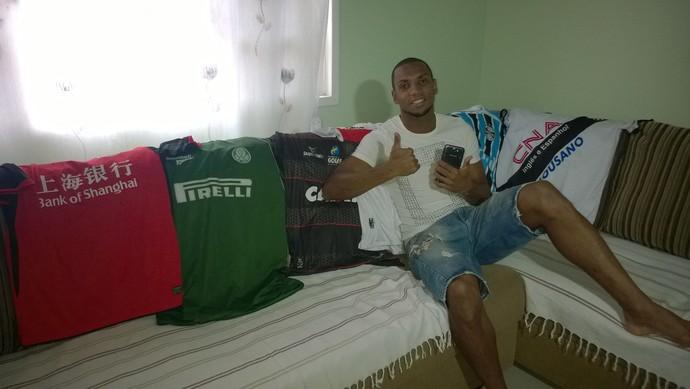 Anselmo, do Macaé (Foto: Júnior Costa/Globoesporte.com)