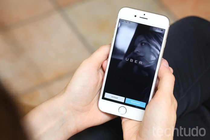 Uber está disponível para iPhone, Android e Windows (Foto: Lucas Mendes/TechTudo)