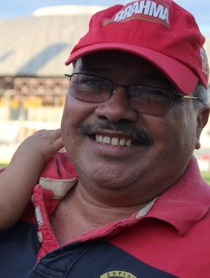 Jankel Costa, presidente do Flamengo-PI (Foto: Renan Morais)