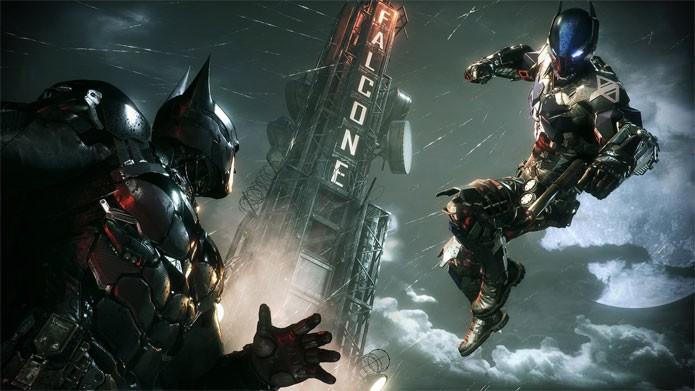 Batman Arkham Knight mostra o herói contra o novo vilão (Foto: Divulgação/Warner)