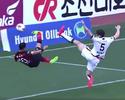 Com dois gols, ex-Timão garante virada com voleio nos acréscimos na Coreia