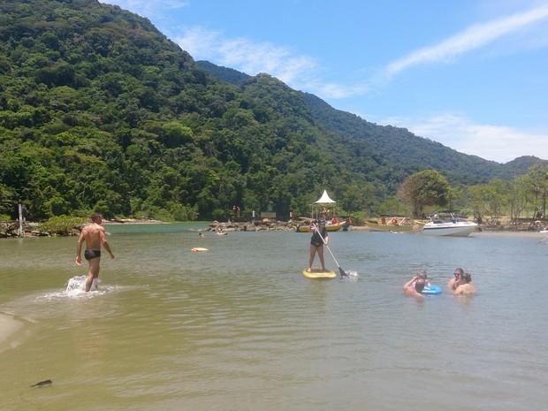 Rio Guaraú (Foto: Orion Pires/G1)