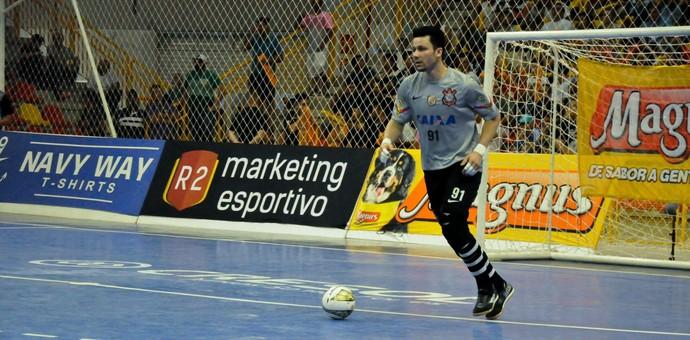 Guitta, goleiro do futsal do Corinthians (Foto: Danilo Camargo/ Magnus Futsal)