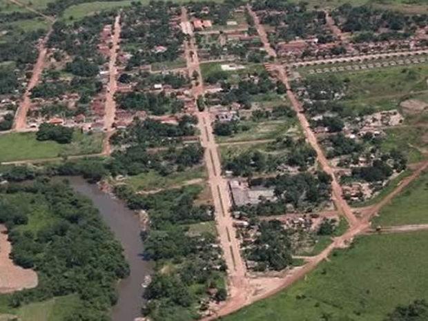Araguainha é o município menos populoso de Mato Grosso. (Foto: Assessoria/Prefeitura Municipal)