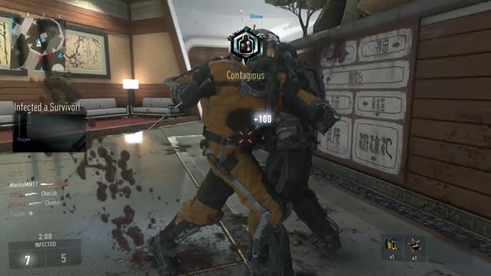 Call of Duty: Advanced Warfare: como jogar o modo Infected (Foto: Reprodução/Murilo Molina)