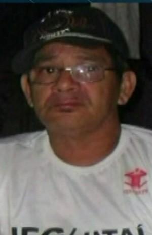 Genessi Felipe de Oliveira, de 58 anos, foi morto pela mulher, diz polícia civil Goiás Jataí (Foto: Reprodução/ TV Anhanguera)