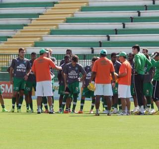 Chapecoense grupo (Foto: Laion Espíndula)