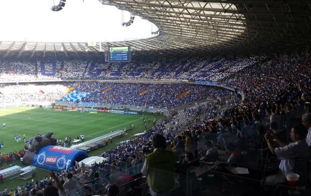 torcida Cruzeiro Mineirão (Foto: Globoesporte.com)