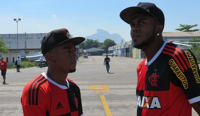 MC Nego do Borel e Marcelo Cirino (Foto: Daniel Cardoso)