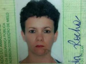 Tania Maria Rocha morreu no acidente (Foto: Jamile Alves/G1 AM)