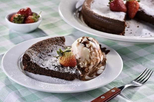 Bolo de chocolate sem farinha (Foto: Divulgação)