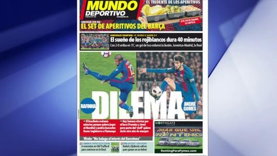 """Mazinho descarta saída de Rafinha do Barça para o Fla: """"É um absurdo"""""""