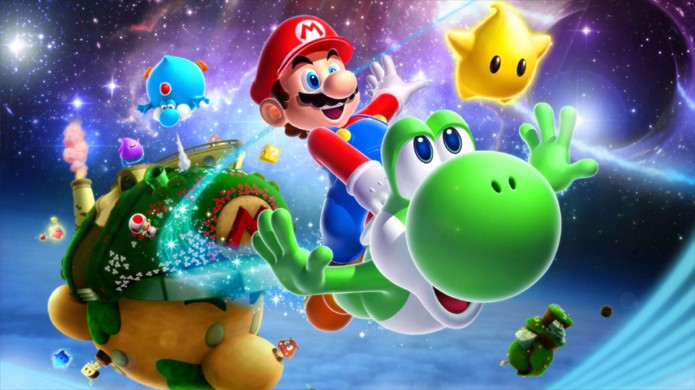 A série Super Mario Galaxy e vários outros games do Wii são jogáveis no Wii U graças à retrocompatibilidade (Foto:Reprodução/DualShockers)