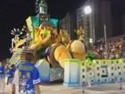 Veja como foi o 2º dia de desfile das escolas de samba de Santos
