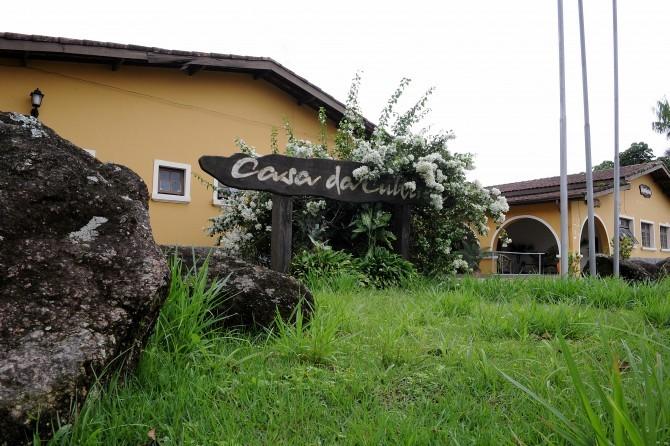 Casa da Cultura de Bertioga (Foto: Dirceu Mathias)