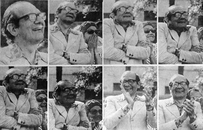 Retratos durante a implosão do edifício Mendes Caldeira (Foto: Reginaldo Manente/Divulgação)