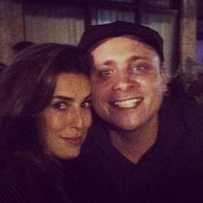 Fernanda Paes Leme e Léo Fuchs em festa no Rio (Foto: Instagram/ Reprodução)