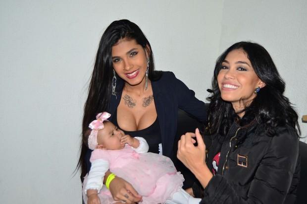 MC Pocahontas e Sheislane Hayalla (Foto: Divulgação/ MF Models)