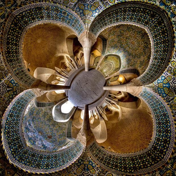 Foto do estudante mostra a mesquita de Vakil (Foto: Mohammad Reza Domiri Ganji/Arquivo pessoal)