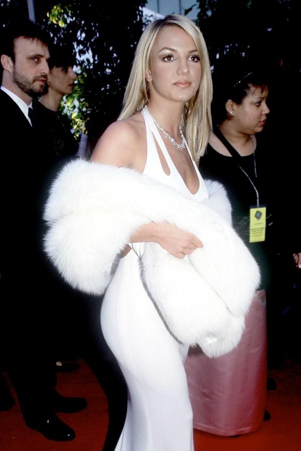 Britney Spears foi em seu primeiro Grammy em 2000, mas só foi ganhar o seu primeiro prêmio cinco anos depois (Foto: Getty Images)