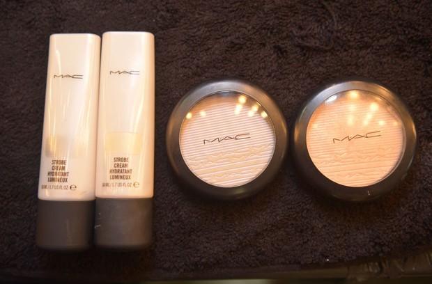 As novidades de iluminadores da MAC Cosmetics (Foto: Cauê Moreno/ Ed.Globo)