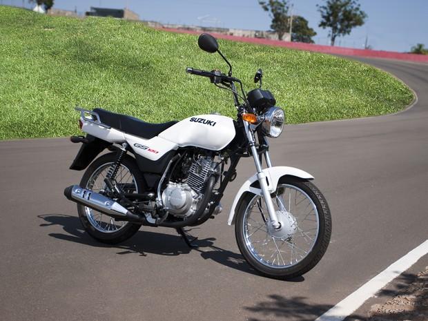 Suzuki GS120 (Foto: Divulgação)
