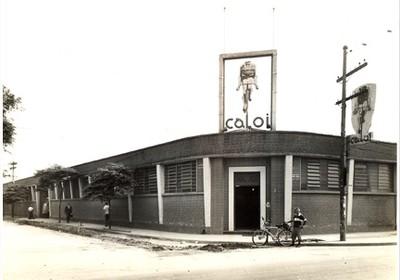 Sede da Caloi na década de 1930 (Foto: Divulgação)